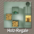 Holzregale