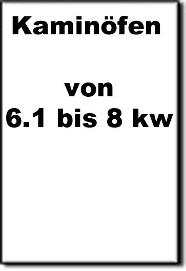 6.1 bis 8kW