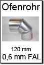 Kaminrohre Senotherm 120mm