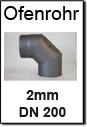 Kaminrohre Senotherm 200mm