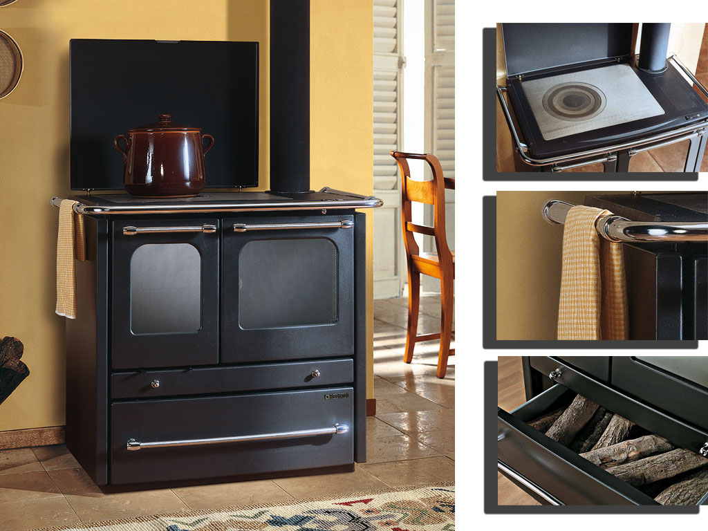 kamin termosovrana dsa k chenherd la nordica anthrazit online kaufen. Black Bedroom Furniture Sets. Home Design Ideas
