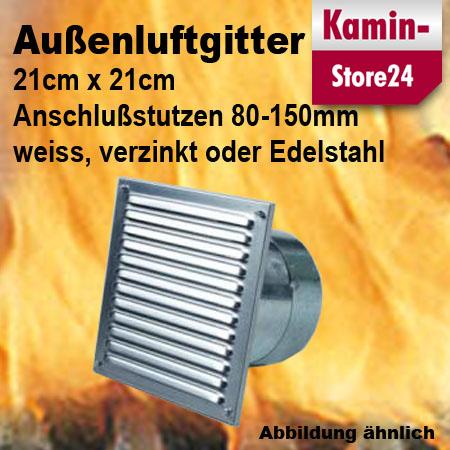 aluflexrohr 80 100 125 150mm warmluft kaminofen zuluft rohr flexibel ebay. Black Bedroom Furniture Sets. Home Design Ideas