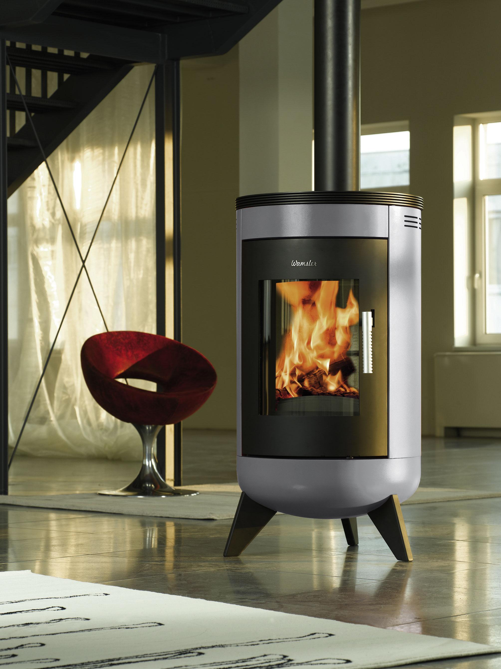 kamin metropolitan kaminofen wamsler silver online kaufen. Black Bedroom Furniture Sets. Home Design Ideas